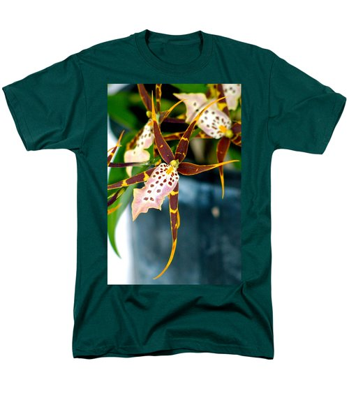 Spider Orchid Men's T-Shirt  (Regular Fit) by Lehua Pekelo-Stearns