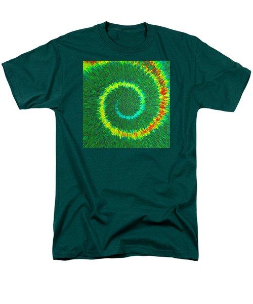 Spiral Rainbow C2014 Men's T-Shirt  (Regular Fit) by Paul Ashby