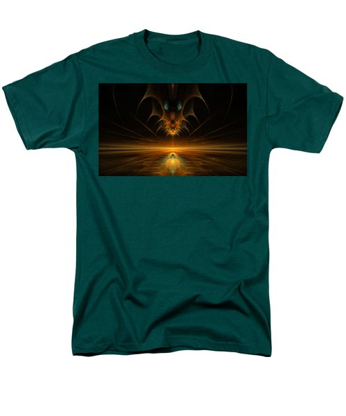 Men's T-Shirt  (Regular Fit) featuring the digital art Spirit In The Sky by GJ Blackman