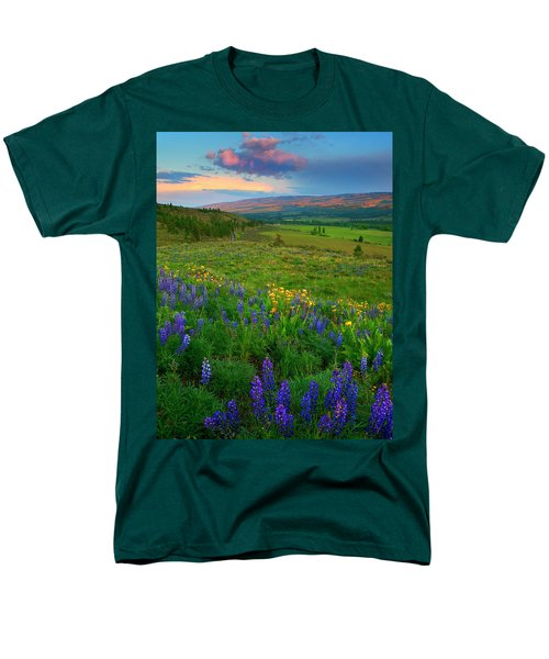 Spring Storm Passing Men's T-Shirt  (Regular Fit) by Mike  Dawson