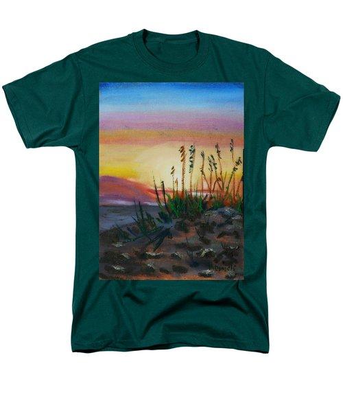 Beach At Sunrise Men's T-Shirt  (Regular Fit) by Michael Daniels