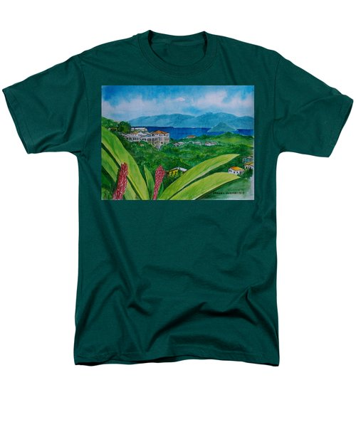 St. Thomas Virgin Islands Men's T-Shirt  (Regular Fit) by Frank Hunter