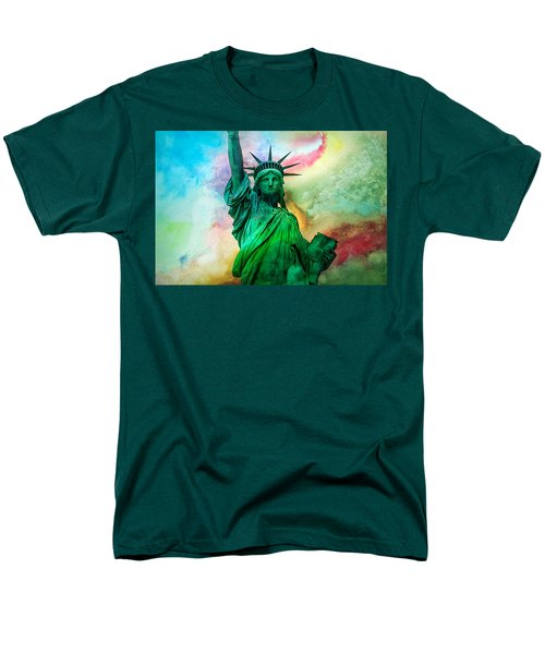 Stand Up For Your Dreams Men's T-Shirt  (Regular Fit) by Az Jackson