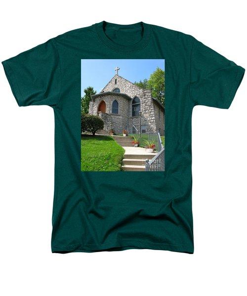 Stone Church Men's T-Shirt  (Regular Fit)