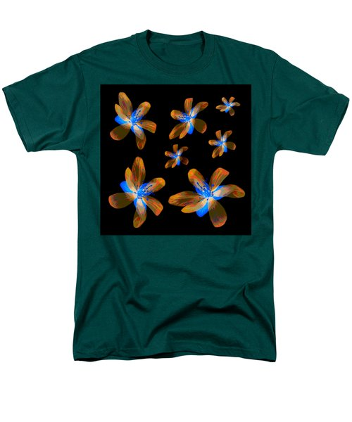 Study Of Seven Flowers #5 Men's T-Shirt  (Regular Fit) by Ari Salmela