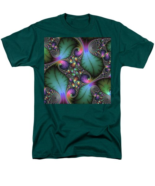 Stunning Mandelbrot Fractal Men's T-Shirt  (Regular Fit)