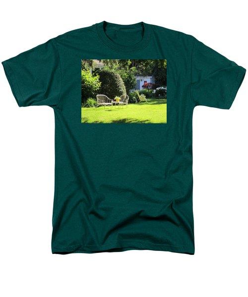 Men's T-Shirt  (Regular Fit) featuring the photograph Summer Garden by Jieming Wang