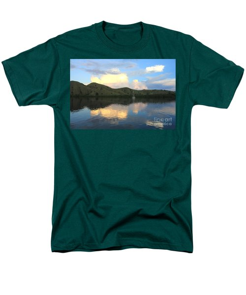 Sunset On Komodo Men's T-Shirt  (Regular Fit) by Sergey Lukashin