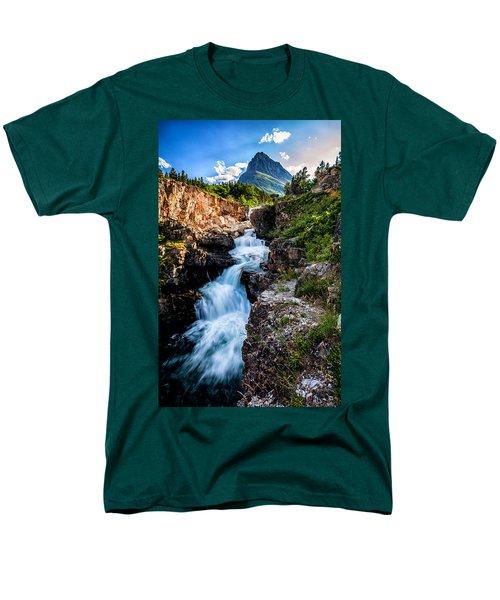 Swiftcurrent Falls Men's T-Shirt  (Regular Fit)