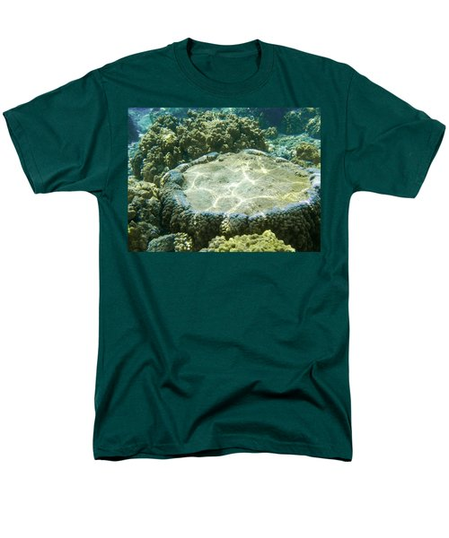 Table Top Coral Men's T-Shirt  (Regular Fit) by Denise Bird