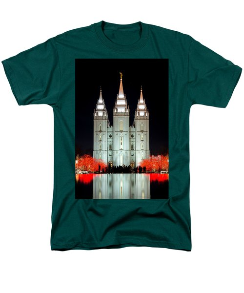 Temple Lights Men's T-Shirt  (Regular Fit) by Dustin  LeFevre