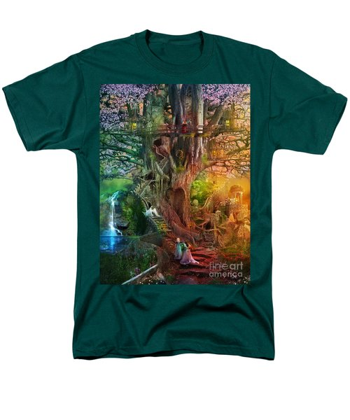 The Dreaming Tree Men's T-Shirt  (Regular Fit) by Aimee Stewart