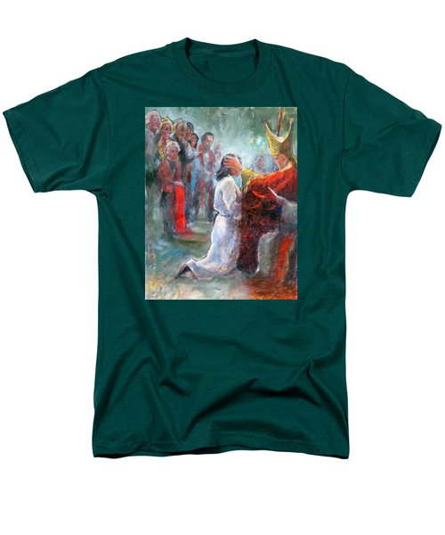 The Episcopal Ordination Of Sierra Wilkinson Men's T-Shirt  (Regular Fit) by Gertrude Palmer