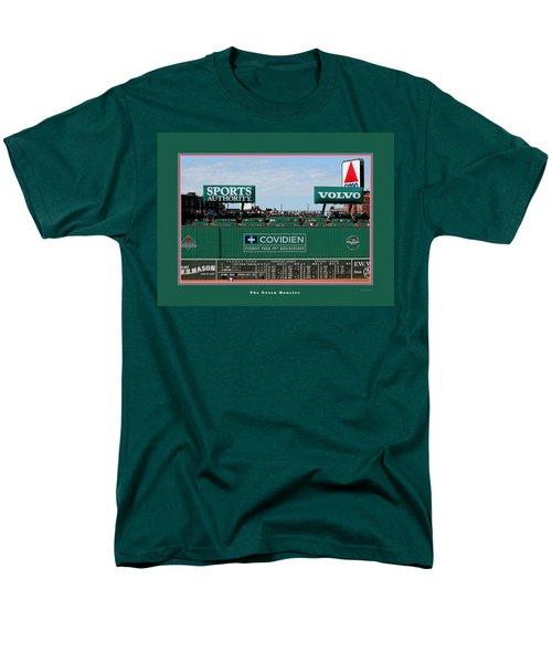 The Green Monster Fenway Park Men's T-Shirt  (Regular Fit) by Tom Prendergast