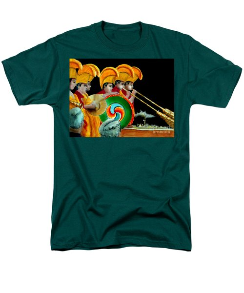 Men's T-Shirt  (Regular Fit) featuring the painting The Healing Ceremony by Albert Puskaric