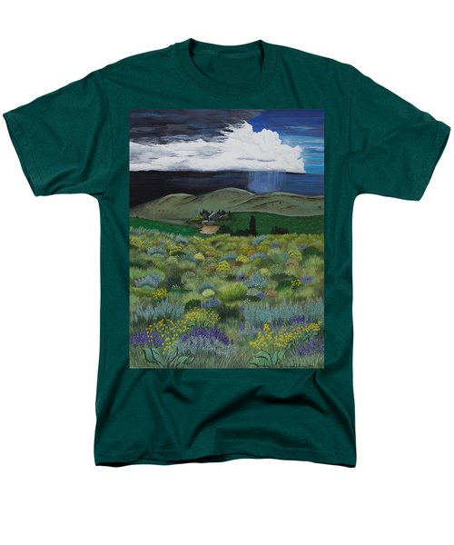The High Desert Storm Men's T-Shirt  (Regular Fit) by Jennifer Lake