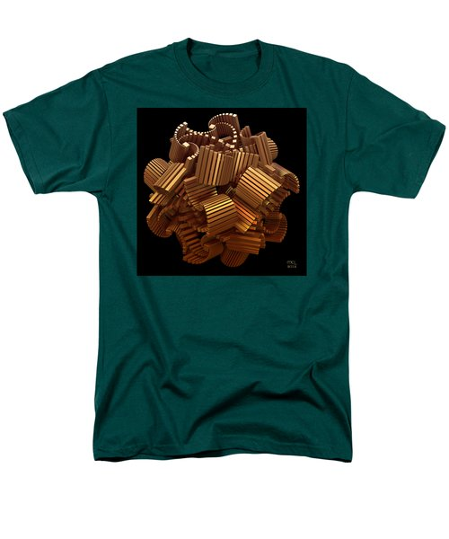 Men's T-Shirt  (Regular Fit) featuring the digital art The Interpretation Of Signs And Portents by Manny Lorenzo