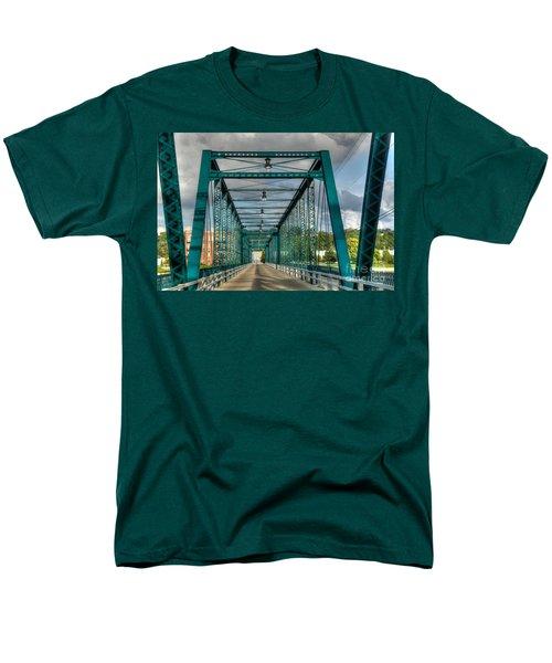 The Old Sixth Street Bridge Men's T-Shirt  (Regular Fit) by Robert Pearson