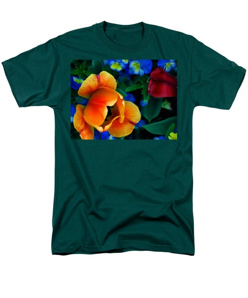 The Secret Life Of Tulips Men's T-Shirt  (Regular Fit) by Rory Sagner