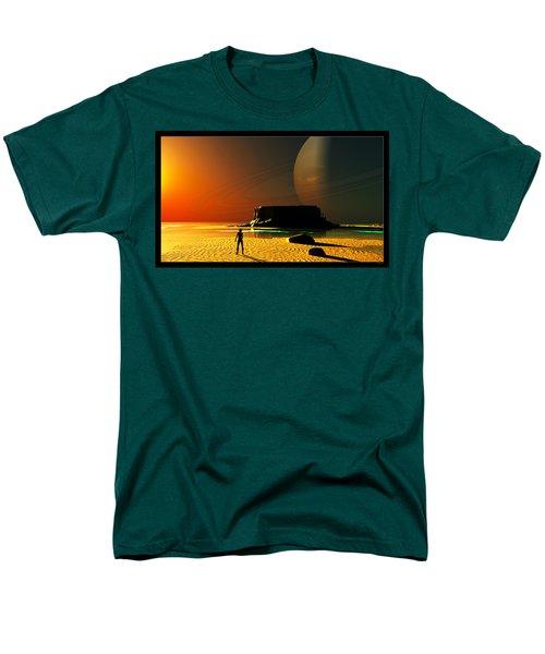 The Shore Of The Cupric Seas... Men's T-Shirt  (Regular Fit)