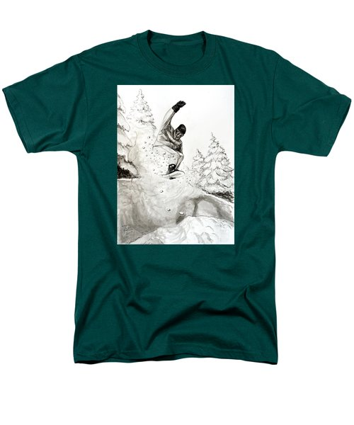 The Snowboarder Men's T-Shirt  (Regular Fit)