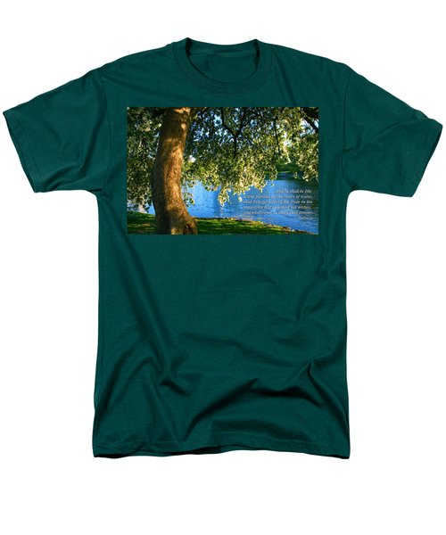 The Tree God Spoke Of... Men's T-Shirt  (Regular Fit) by Terry Wallace