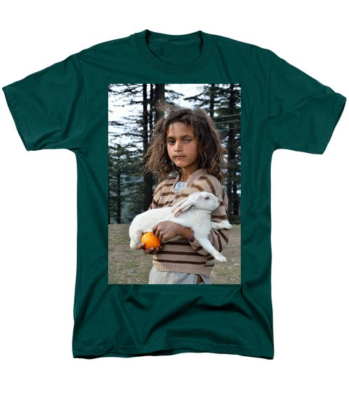The Village Girl Men's T-Shirt  (Regular Fit) by Fotosas Photography