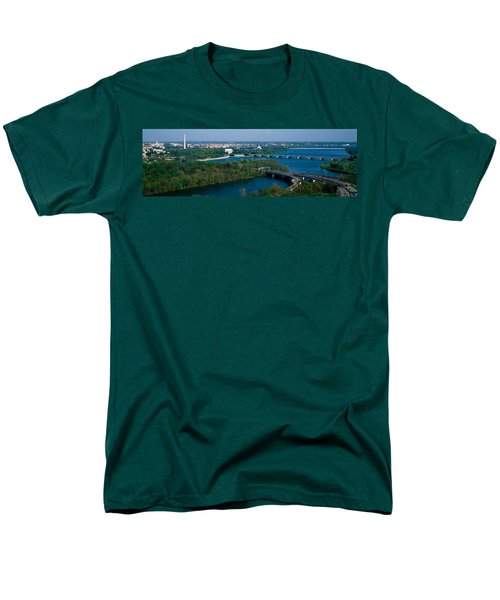 This Is An Aerial View Of Washington Men's T-Shirt  (Regular Fit) by Panoramic Images