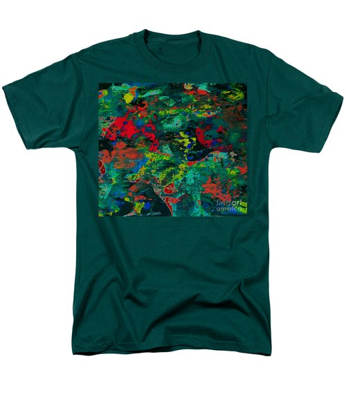 Men's T-Shirt  (Regular Fit) featuring the painting Tide Pool by Jacqueline McReynolds