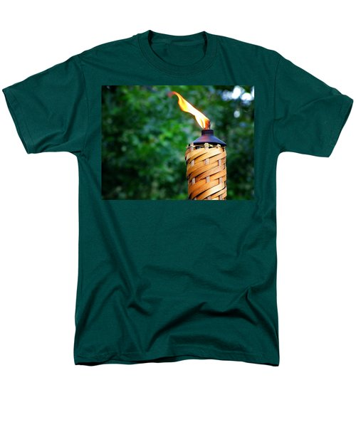 Men's T-Shirt  (Regular Fit) featuring the photograph Tiki Time by Greg Simmons