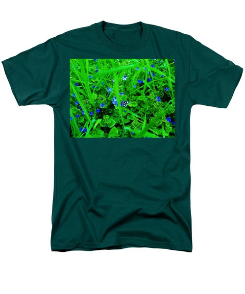 Men's T-Shirt  (Regular Fit) featuring the photograph Tiny Butterfly by Sherman Perry