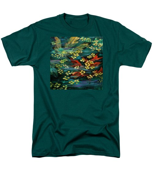 Men's T-Shirt  (Regular Fit) featuring the painting Transforming... by Xueling Zou