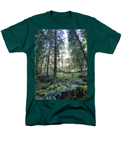 Men's T-Shirt  (Regular Fit) featuring the photograph Treequility by Athena Mckinzie