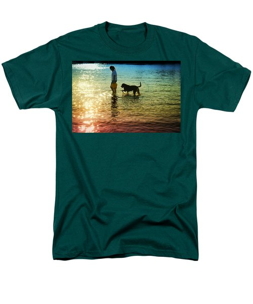 Tripping The Light Fantastic Men's T-Shirt  (Regular Fit) by Laura Fasulo