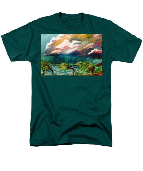 Tropical Storm Men's T-Shirt  (Regular Fit) by Renee Michelle Wenker