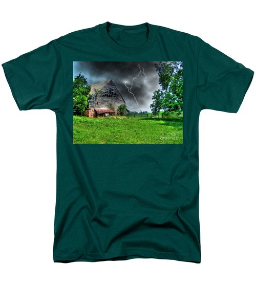 Trouble Brewing Men's T-Shirt  (Regular Fit) by Dan Stone