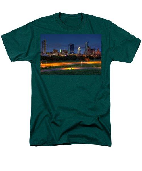 Twilight Skyline Men's T-Shirt  (Regular Fit) by Dave Files