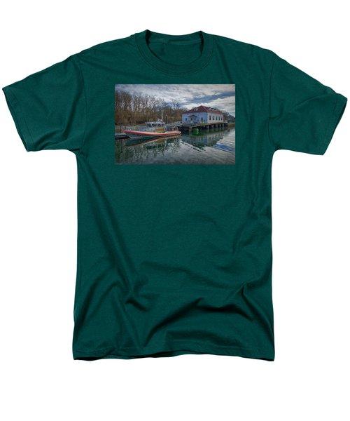 Usgs Castle Hill Station Men's T-Shirt  (Regular Fit) by Joan Carroll