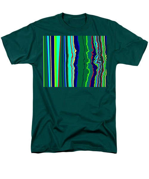 Vibrato Stripes  C2014  Men's T-Shirt  (Regular Fit) by Paul Ashby
