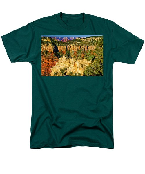 Men's T-Shirt  (Regular Fit) featuring the photograph View From Angel Point  by Bob and Nadine Johnston