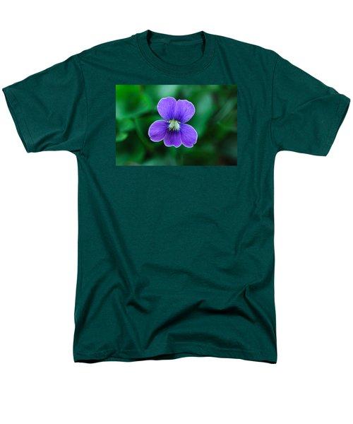 Violet Splendor Men's T-Shirt  (Regular Fit) by Julie Andel