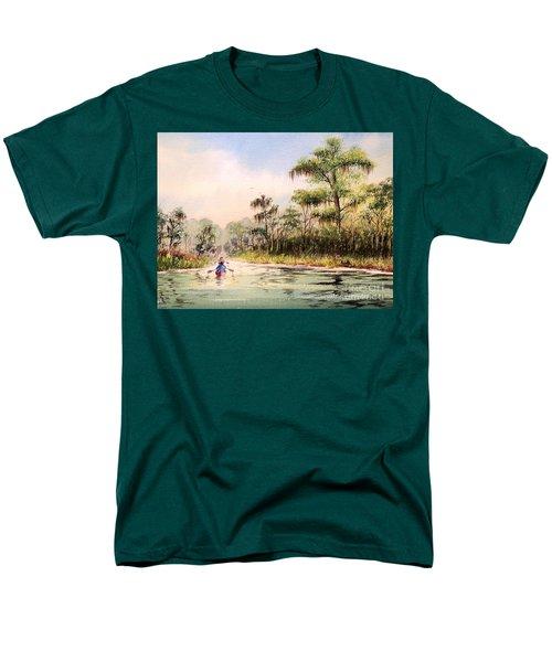 Wacissa River  Men's T-Shirt  (Regular Fit) by Bill Holkham
