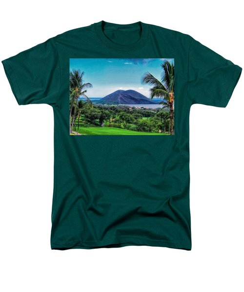 Wailea Golf 6 Men's T-Shirt  (Regular Fit) by Dawn Eshelman