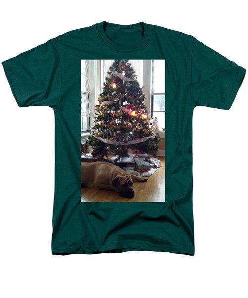 Waiting For Santa Men's T-Shirt  (Regular Fit)