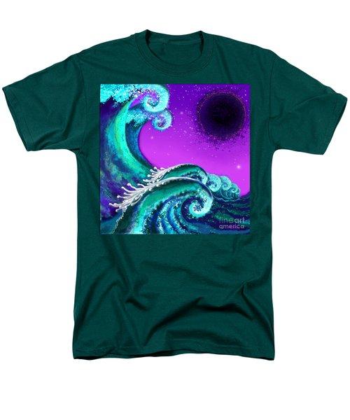 Waves Men's T-Shirt  (Regular Fit) by Carol Jacobs