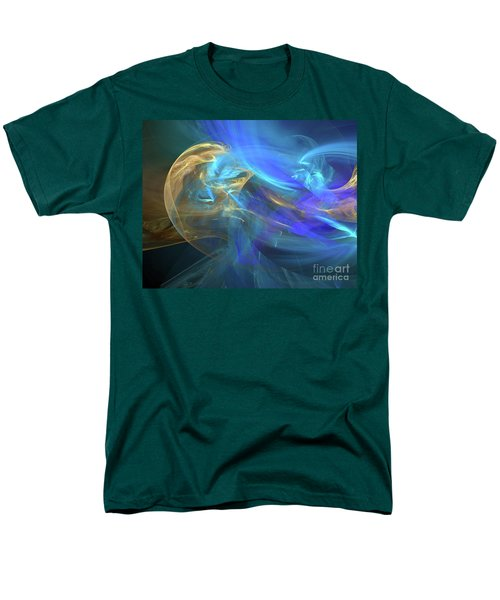 Men's T-Shirt  (Regular Fit) featuring the digital art Waves Of Grace by Margie Chapman