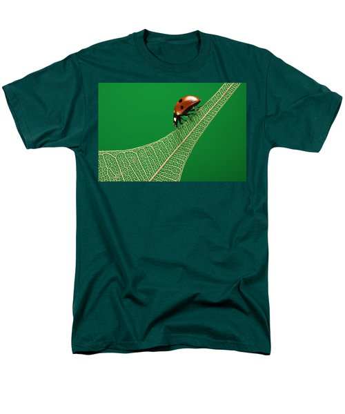 Where Have All The Green Leaves Gone? Men's T-Shirt  (Regular Fit) by William Lee