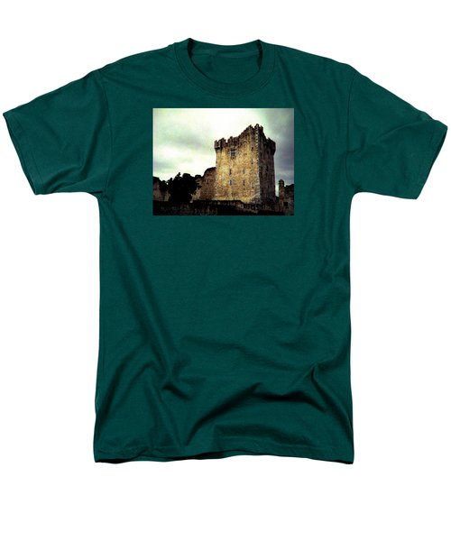 Men's T-Shirt  (Regular Fit) featuring the photograph Whispers And Footsteps by Angela Davies