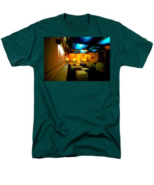 White Lounge Men's T-Shirt  (Regular Fit) by Melinda Ledsome
