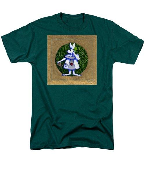 White Rabbit Wonderland Men's T-Shirt  (Regular Fit)